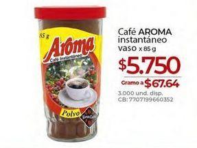 Oferta de Café instantáneo Aroma por $5750