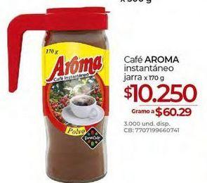 Oferta de Café instantáneo Aroma por $10250