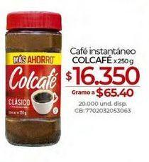 Oferta de Café instantáneo Colcafe por $16350