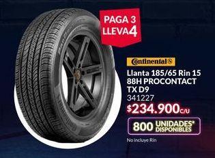 Oferta de Llantas Continental por $234900