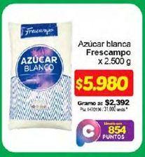 Oferta de Azúcar blanca FRESCAMPO 2500g por $5980