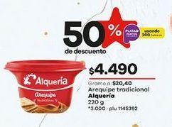 Oferta de Arequipe Alquería por $4490