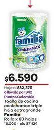 Oferta de Toalla de cocina Familia por $6590
