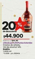 Oferta de Crema de whisky por $44900