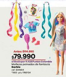 Oferta de Muñecas Barbie Barbie por $79990