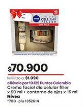 Oferta de Crema facial Nivea por $70900
