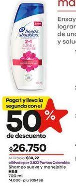 Oferta de Shampoo H&S por $26750