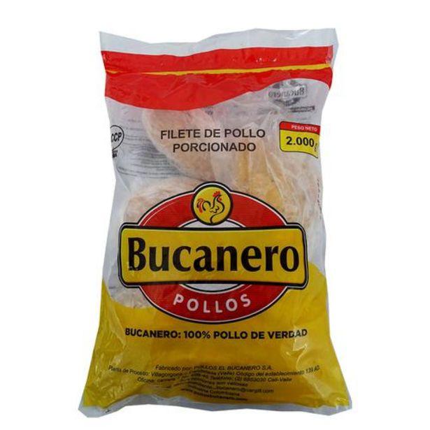 Oferta de Bucanero Pechuga de Pollo Congelada sin Hueso y Sin Piel, Bolsa, 2 kg / 4.41 lb por $30900