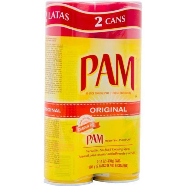 Oferta de Pam, aerosol para cocinar, 2 latas/14 oz. por $34900