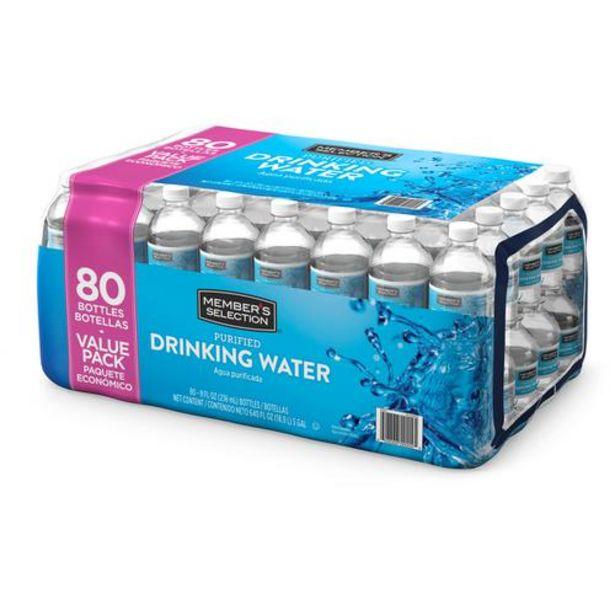 Oferta de Member's Selection Agua Purificada 80 Unidades por $37500