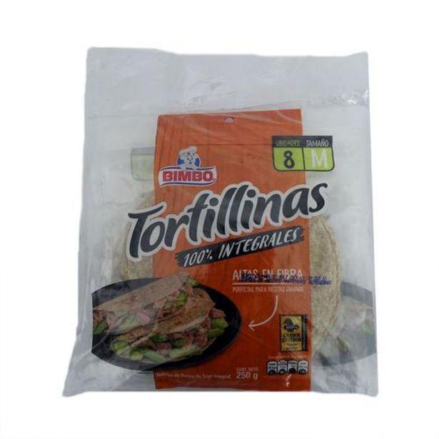 Oferta de Bimbo Tortilla Integral Tortillinas 2 Unidades/250 g por $10900