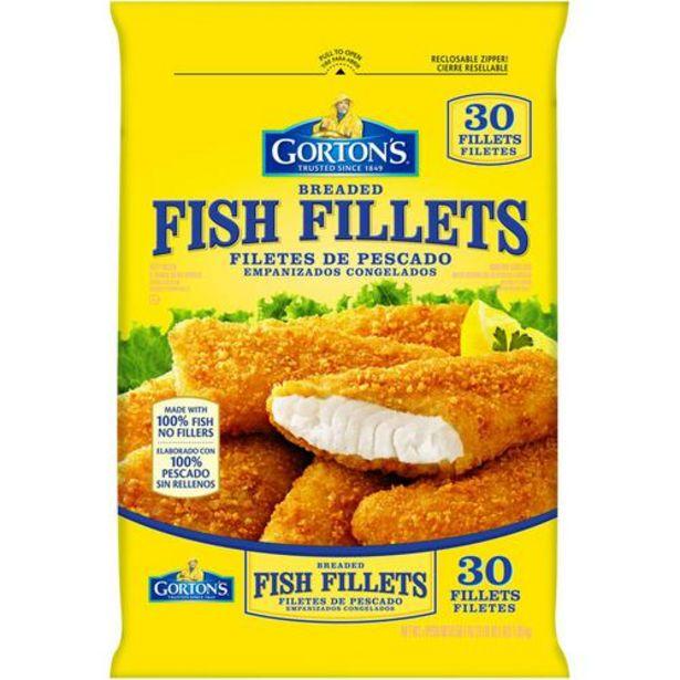 Oferta de Gorton's Filetes de Pescado Empanizado, 30 unidades / 55 g / 1.9 oz por $56900