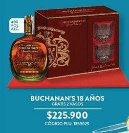 Oferta de Whisky Buchanan´s por $225900