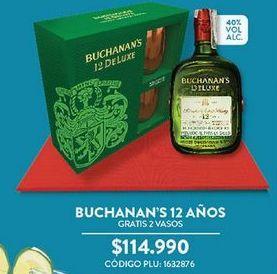 Oferta de Whisky Buchanan´s por $114990