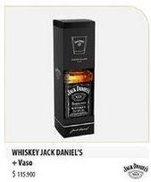 Oferta de Whisky Jack Daniel's por $115900