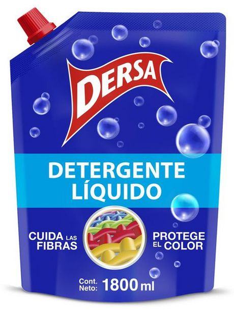 Oferta de Detergente liquido dersa x 1800 ml por $8662