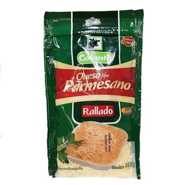 Oferta de Queso Parmesano Colanta para rayar x 100 gr por $6075