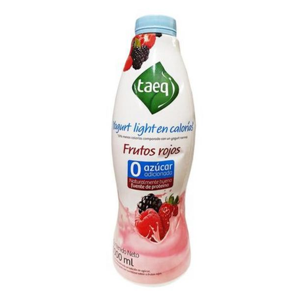 Oferta de Yogurt Light Fruto Roj Botella TAEQ 1000 Gramo por $5301