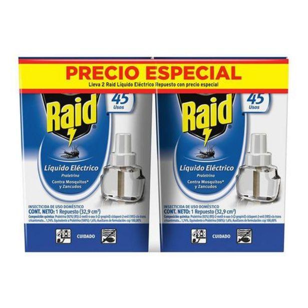 Oferta de Insect raid 45 noches repx2 pe RAID 66 Mililitro por $19980