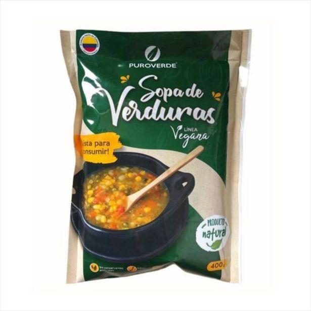 Oferta de Sopa Natural De Verduras-Entrega Medellín En 24H por $8000