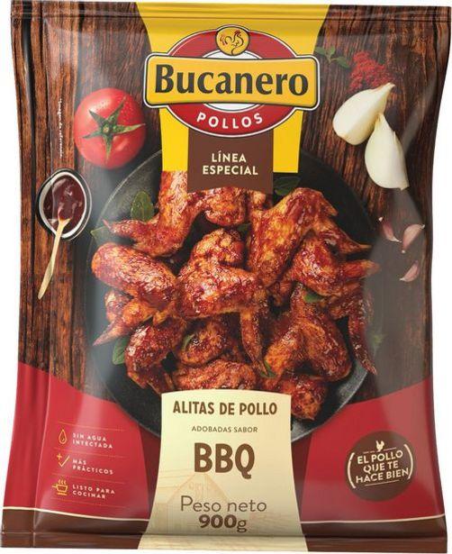 Oferta de Alitas de pollo bbq EL BUCANERO 900 Gramo por $11565