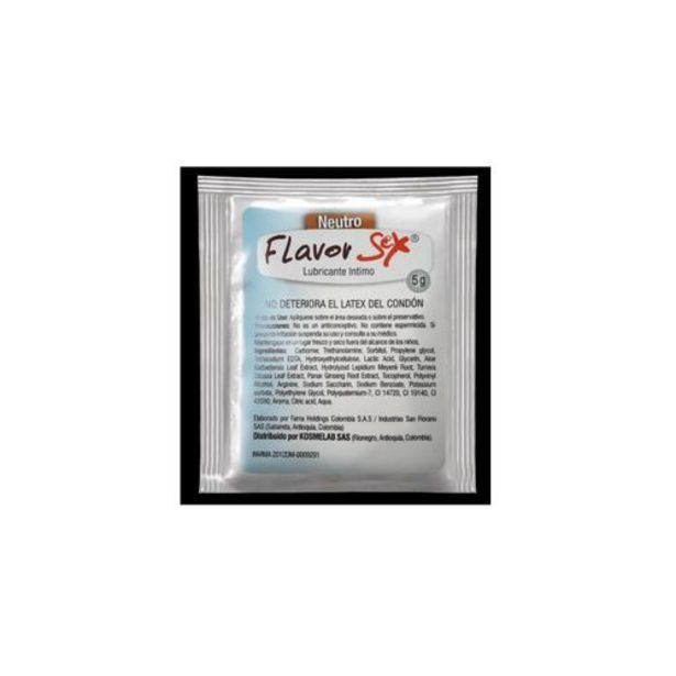 Oferta de Lubricante Neutro Flavor 5 Ml por $8100