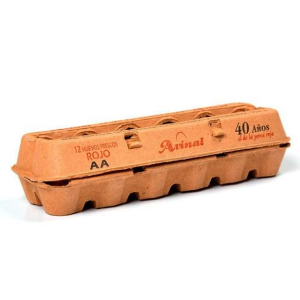 Oferta de Huevo Rojo Avinal AA x 12 unds por $5584