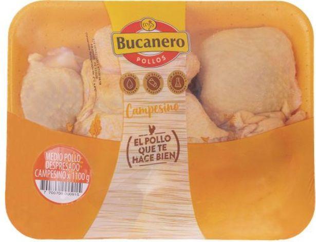Oferta de Medio pollo despresado El Bucanero x 1100 g por $9450