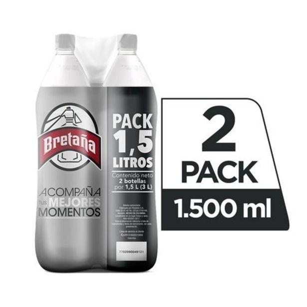 Oferta de Soda Bretaña Duo Pack x 1500 ml c.u por $4200