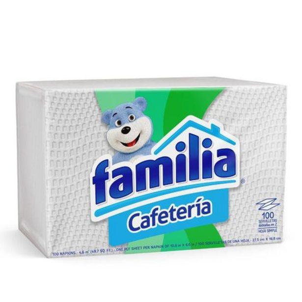 Oferta de Servilletas familia cafetería x 100 und por $1890