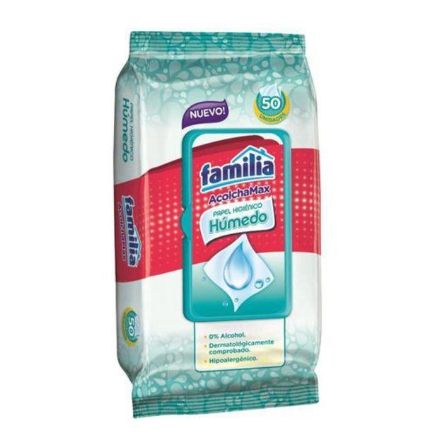 Oferta de Papel higiénico húmedo familia x 50 und por $7200