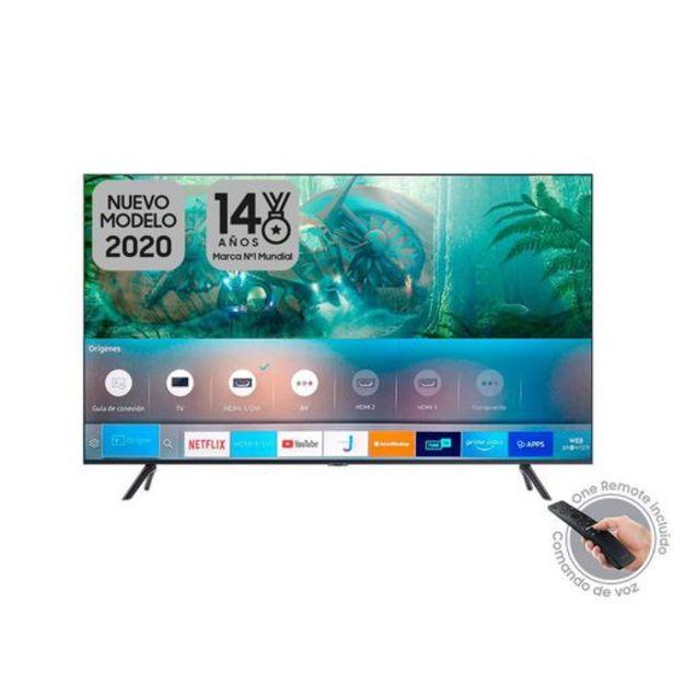 Oferta de Televisor Samsung Crystal 50 pulgadas UHD 4K Smart TV 2020 - TU8000 por $1599900