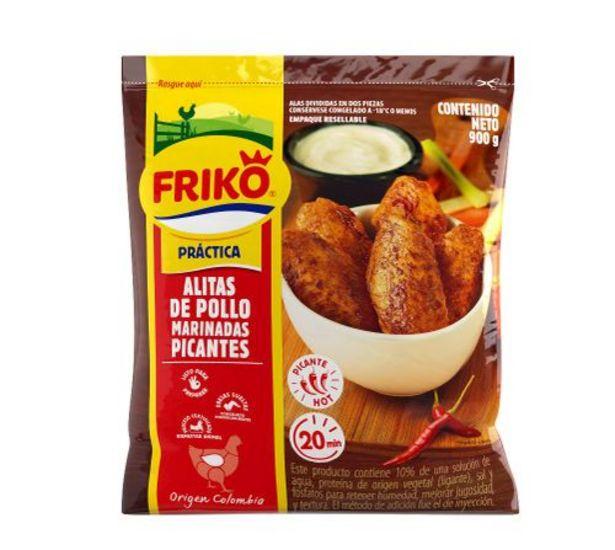 Oferta de Alitas de pollo marinadas picantes X 900 g por $12330