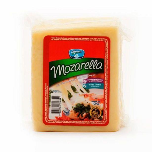 Oferta de Queso Bloque Mozarella Alpina x 1000 gr por $28170