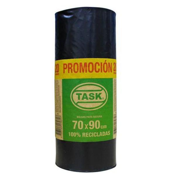 Oferta de BOLSA BASURA 70*90 RESIDENCIAL TASK 1017031 por $8950