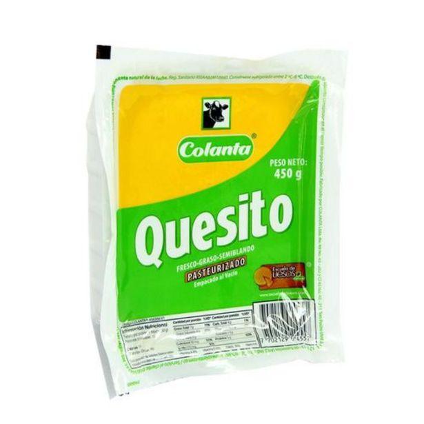 Oferta de Quesito al vacio COLANTA 450 Gramo por $6399