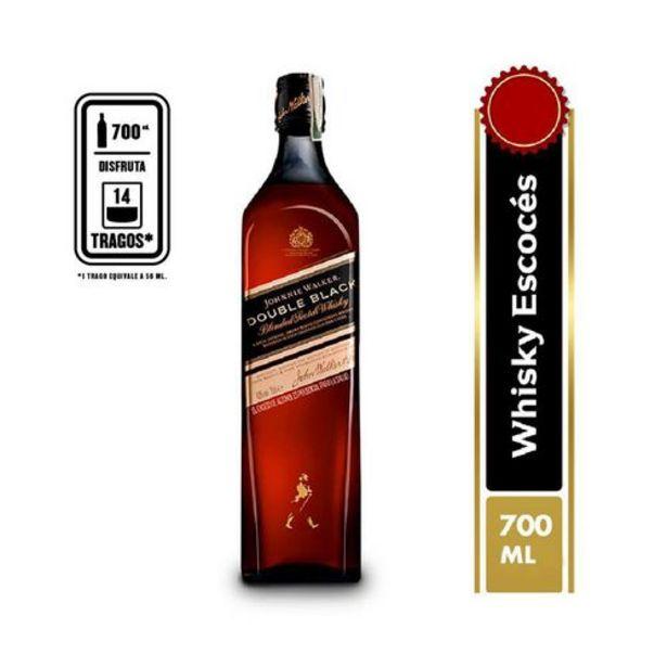 Oferta de Whisky double black blended x 700 ml por $94050