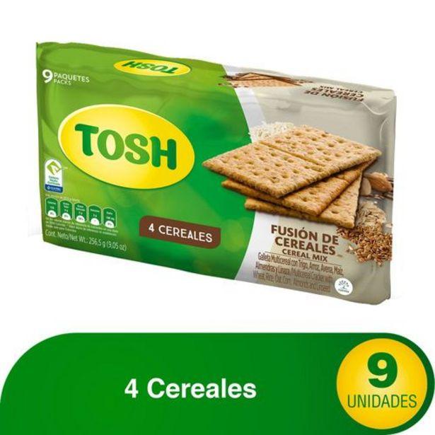 Oferta de FUSION DE CEREALES TOSH 256.500 Gramo por $4690