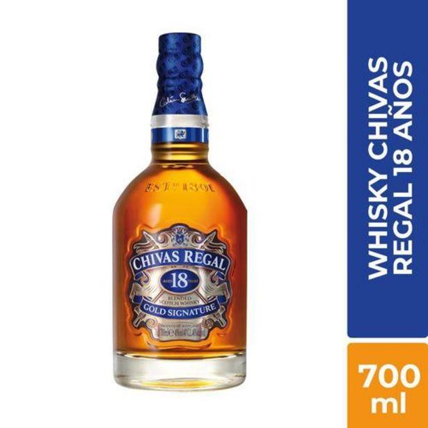 Oferta de Whisky chivas regal 18 años x 700 ml por $174900