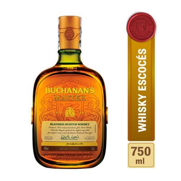 Oferta de Whisky Buchanans Master x 750 ml por $111900
