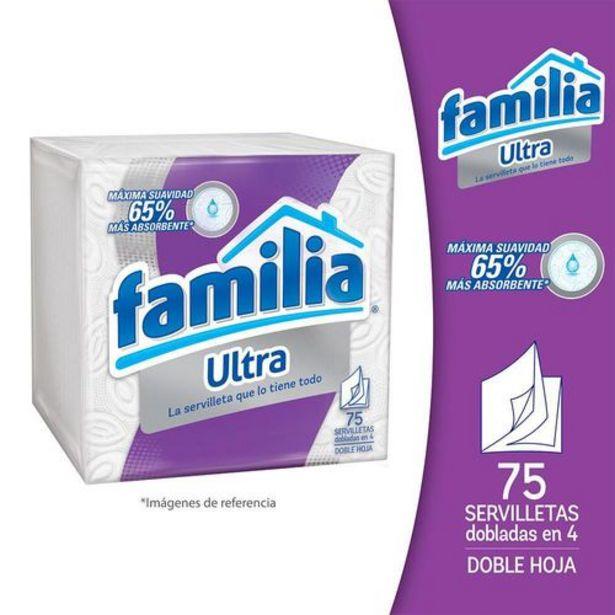 Oferta de Servilletas Familia Ultra X 100 por $2898