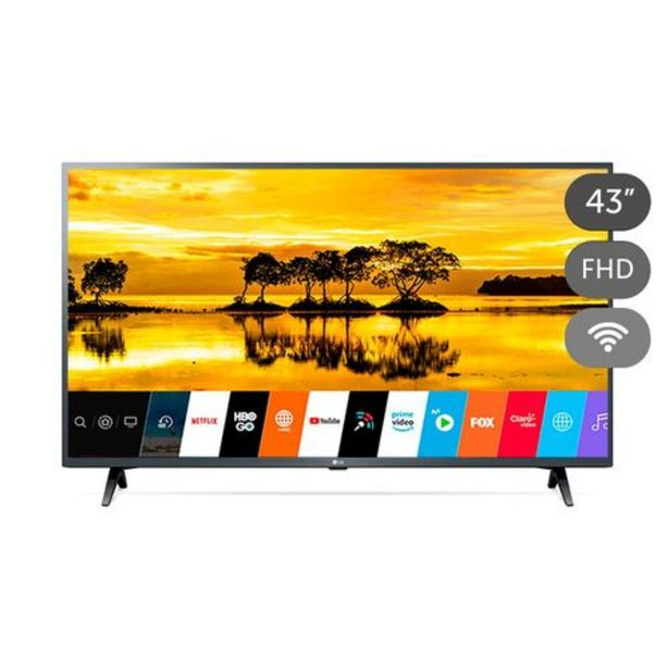 Oferta de Televisor 43 Pulgadas LG 43LM6300 FHD Smart TV por $1233999