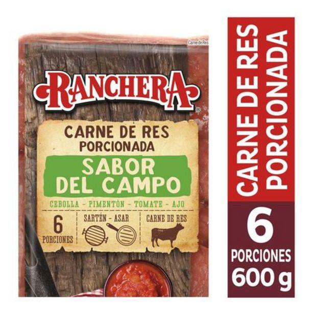 Oferta de Carne de res porcionada sabor del campo por $13424