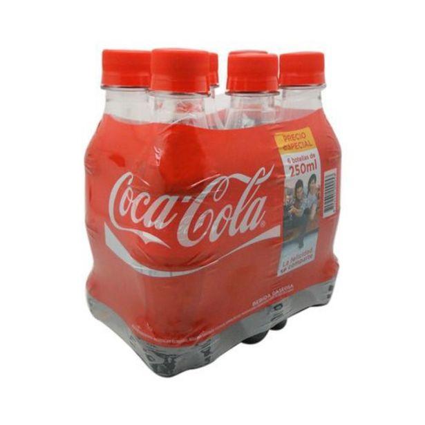 Oferta de Sixpack coca cola mini pet 1500 ml por $5678
