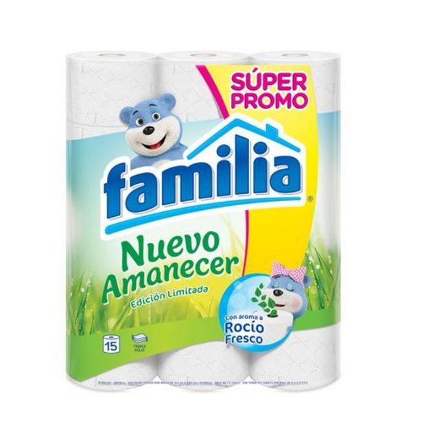 Oferta de Papel higienico nuevo amanecer x 15 unds FAMILIA SIN REF por $12950