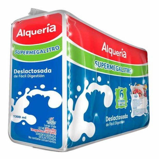Oferta de Leche Alqueria Deslactosada Sixpack x 1300 Ml c.u por $23200