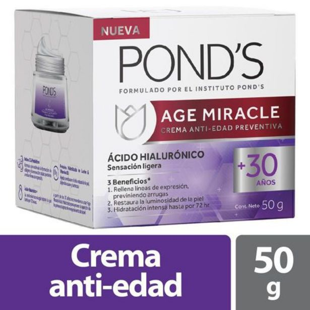 Oferta de Crema facial age miracle POND'S 50 Gramo por $30800