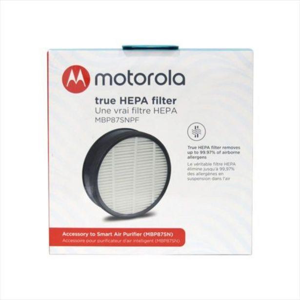 Oferta de Filtro Hepa De Purificador Motorola Mbp87sn por $84900