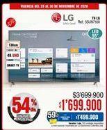 Oferta de Smart tv LG por $1699900