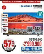 Oferta de Smart tv Samsung por $2999900
